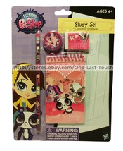 LITTLEST PET SHOP* 4pc STUDY SET Memo Pad+Pencil+Eraser+Sharpener FOR KI... - $2.99