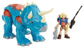 Fisher-Price Imaginext Jurassic World, Dr. Sattler & Triceratops - $18.76