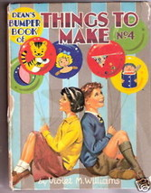 Dean's BUMPER BOOK OF THINGS TO MAKE No 4  1957  VG - $17.55