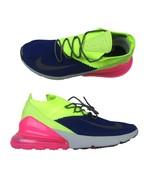 Nike Air Max 270 Flyknit Regency Purple Grey Volt AO1023 501 Mens Size 1... - $84.95