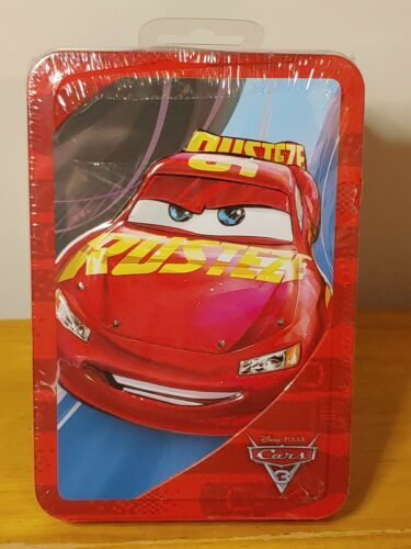 Primary image for Disney PIXAR CARS Tin 64 pages Activity Book 20+ Stickers, Sticker Scene