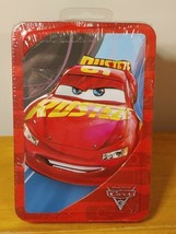 Disney PIXAR CARS Tin 64 pages Activity Book 20+ Stickers, Sticker Scene - $4.94
