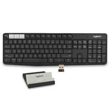Logitech K375s Muli-Device Bluetooth/2.4GHz Wireless Keyboard &Smartphone/Tablet - $55.52