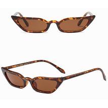 Women Vintage Cat Eye Sunglasses Retro Small Frame UV400 Eyewear Fashion... - $19.20