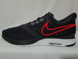 New Nike Zoom Strike Running Shoes Size 10.5, Men's Black & Red AJ0189-004 - $44.54