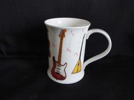 Rare DUNOON Mug Musical Instruments Fine Bone China COTSWOLD Shape - $20.00