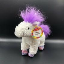 """Melissa & Doug  Misty Unicorn Plush White Purple Shimmery Horn & Hooves 10"""" - $11.87"""