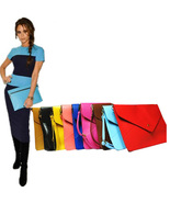 ac44 Celebrity Fashion Oversized Bold Bright Candy Colour Envelope Clutc... - $24.99