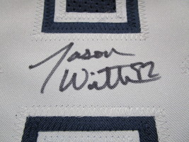 JASON WITTEN / DALLAS COWBOYS / AUTOGRAPHED COWBOYS CUSTOM FOOTBALL JERSEY / COA image 4