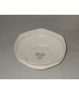 "Limoges Edition Christofle White with Gold Shells Porcelain 10"" Footed Bowl - $50.00"