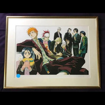 BLEACH Replication Original Picture Taito Kubo Signed Rare Anime Manga - $1,899.56
