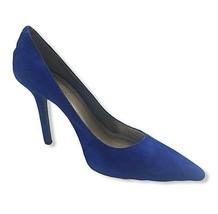 BCBG Generation Womens Blue Velvet Suede Pointed Toe Pumps Size US 10 EU... - $30.84