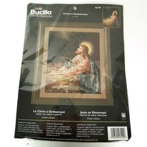 Bucilla Christ in Gethsemane Praying Counted Crosstitch Kit 11 x 14 Seal... - $34.95