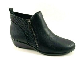 Aerosoles All The Way Black Low Wedge Ankle Bootie - $63.20