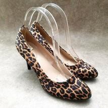 "Bandolino Womens Cait  Sz 7 M Brown Slip On Cheetah Print 3"" Heels Pumps - $27.99"