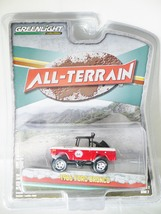 Greenlight 1/64 ALL-TERRAIN Series 2 1966 Ford Bronco Die-cast Figure Red - $25.99