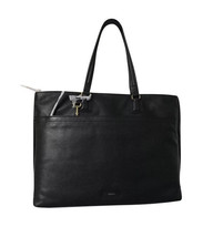New Fossil Women Julia Leather Tote Black Msrp $298.00 - $206.90