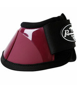 Large Professional Choice Flexible Comfort Horse Spartan Bell Boots Wine... - $35.63