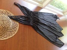 Underskirt Ladies Black Asymmetrical Full Slip - $13.09