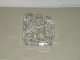 PartyLite ice crystal castle 5 tier tea light holder 16859 - $11.74