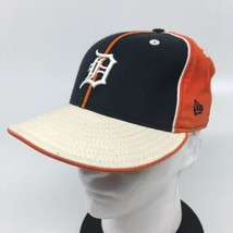 New Era 59Fifty MLB Detroit Tigers Patchwork Fitted Hat 6 7/8  Ivory/Cre... - $27.10