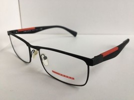 New Prescription PRADA VPS 54F DG0-1O1 53mm Black Rx Men's Eyeglasses Fr... - $149.99