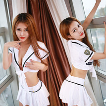 Sexy Lingerie Women Girls Sailor School Adult Uniform Funny Costumes Cos... - $14.99