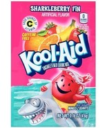 KOOL-AID SHARKLEBERRY FIN Unsweetened Drink Mix (12 Packets) by Kool-Aid - $7.84