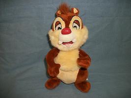 "Authentic Original Disney Dale the Chipmunk Beanbag Plush 9"" Tush Tag Only - $9.16"