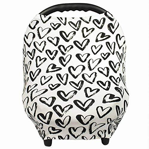 Primary image for Gufix Infant Car Seat Cover, The Stretchy Nursing Scarf, Car Seat Canopy, Shoppi