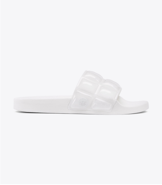 Tory Burch Sport Tory Sport Bubble Slide Sandals White Brand New in Box Size 8