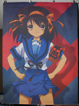 "Haruhi Suzumiya Flag Poster 29"" x 40"" Wall Hanging Fabric Material Tapestry - $31.60"