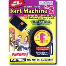 REMOTE CONTROL FART MACHINE farting sounds #2 new gag prank trick joke n... - $11.69