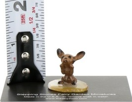 Hagen Renaker Miniature Dog Chihuahua Pup Begging on Base Stepping Stones #2742 image 2
