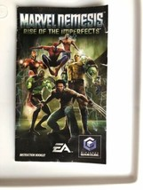 ☆ Marvel Nemesis Rise of the Imperfects (Nintendo GameCube 2005) COMPLETE in Box image 2