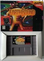 ☆ EarthBound (Super Nintendo 1995) SNES AUTHENTIC Game Cart & Reproducti... - $245.00