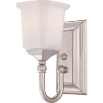 Quoizel NL8601BN Nicholas 1-Light Bath Light, Brushed Nickel - $85.52