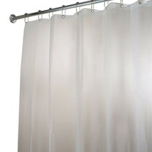 InterDesign 15262 Frost Extra Long Shower Curtain Liner - $14.90