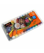 Korean Memory 12 Colors Professional Water Soluble Crayon Set - $12.99