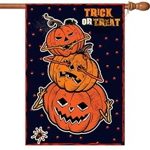 VIEKEY Halloween House Flag Double-Sided 28 x 40 Inch Printing Double Re... - $16.57