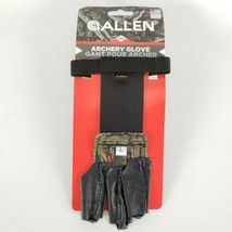 Allen Archery Bow 3 Finger Shooters Glove Medium Camo L Leather Saver Hu... - $12.77