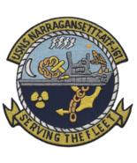"""4.5"""" NAVY USNS NARRAGANSETT T-ATF-167 FLEET OCEAN TUG SHIP EMBROIDERED P... - $18.04"""