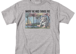 Where the Wild Things Are T-shirt Retro Childrens Book graphic t-shirt WBM709 image 2