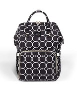 Diaper Bag Backpack Large Capacity for Baby Care Wide Open Design and Wa... - $36.90
