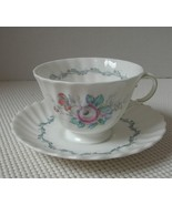 THE CHELSEA ROSE Royal Doulton TEA CUP & SAUCER Bone China EUC 4 Available - $11.53
