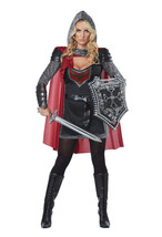 California Costumes Valorous Knight Medieval Womens Halloween Costume 01434 - $52.00