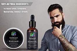 Lionbeard Beard Growth Grooming & Trimming Kit for Men Dad Beard Care - Beard Sh image 5