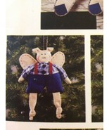 McCall's 845 Crafts Country Critter Christmas Ornaments Cow Pig Bunny Du... - $10.00