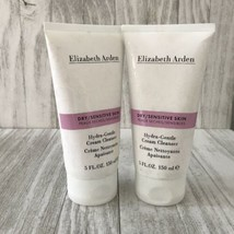 2 Elizabeth Arden Dry Sensitive Skin Hydra Gentle Cream Cleanser 5 fl oz... - $29.20