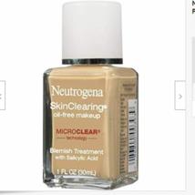 Neutrogena Skin Clearing Oil-Free Acne and Blemish Fighting Liquid New - $16.82